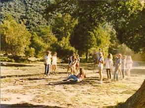 Photo: 1989 - Bariloche, Campamento anual Tropa y Postas