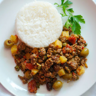 Beef Picadillo With Potatoes Recipes.