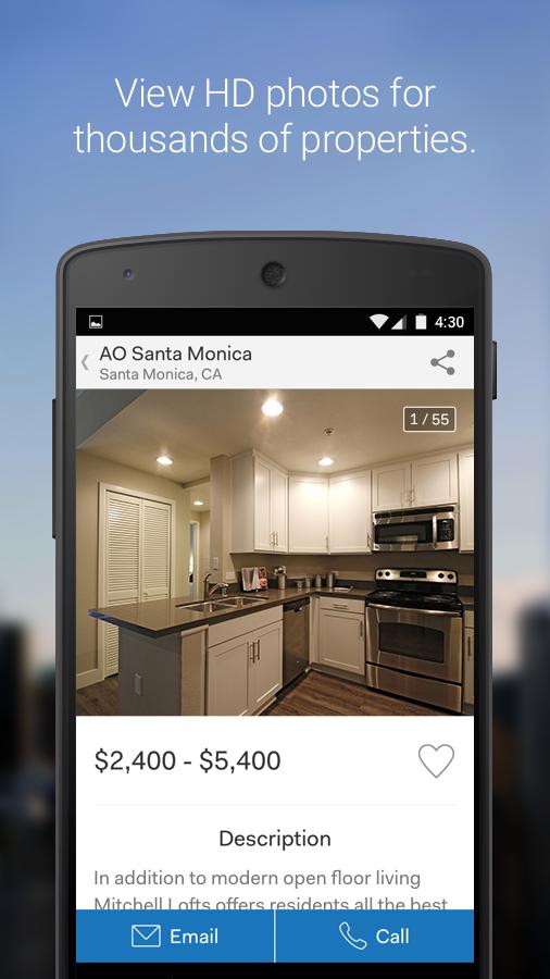 Rent.com Apartment Homes - screenshot