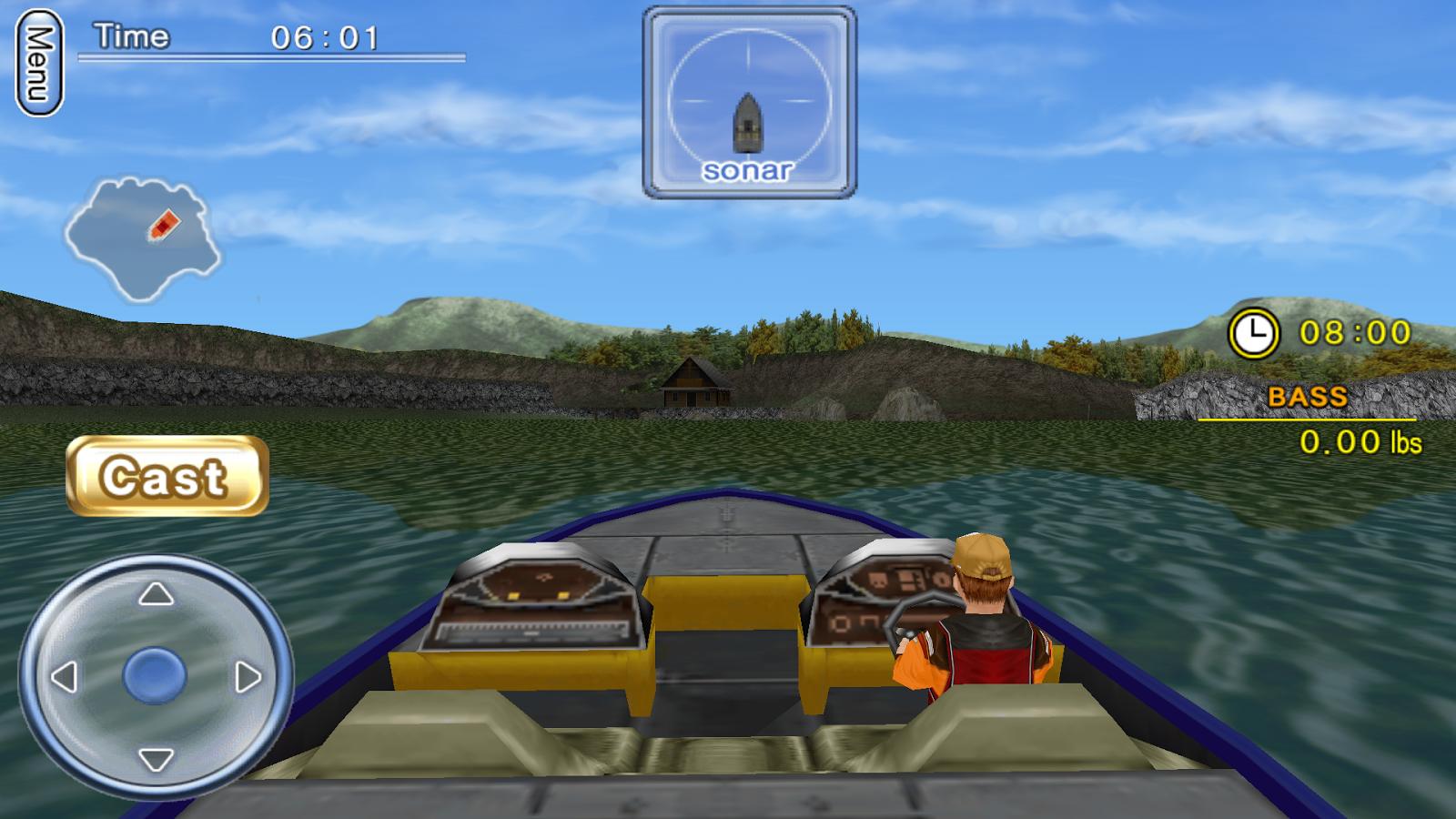 Bass Fishing 3D on the Boat - screenshot