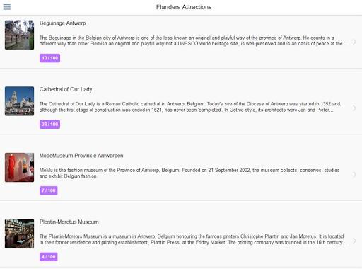 無料旅游Appのフランダースシティガイド|記事Game