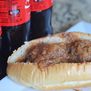 Coca Cola Barbecue Meatball Sandwiches