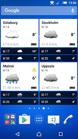 SMHI Väder 2.1.11 screenshot 637235