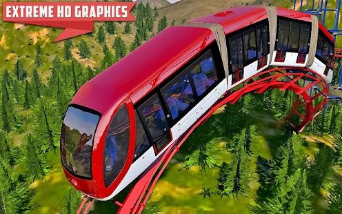 Train Roller Coaster Simulator 2018 - náhled