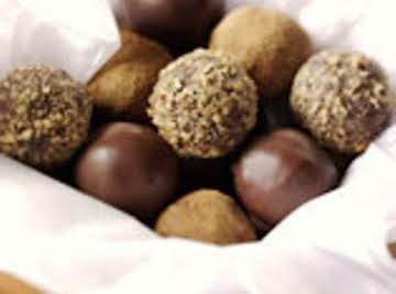 Truffles with Fruit Flavored Cheese