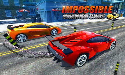 Impossible Chained Cars Tracks Driving - náhled