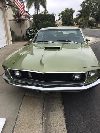 1969 Mustang Hire CA