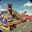 Off-Road Jurassic Zoo World Dino Transport Truck APK