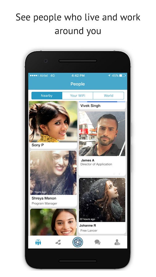 VoyageUp: People & Community- screenshot