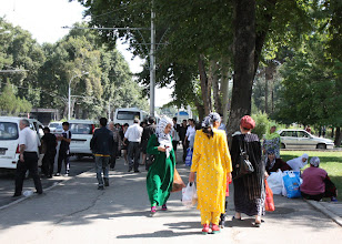 Photo: Day 171 - Busy Street of Dushanbe