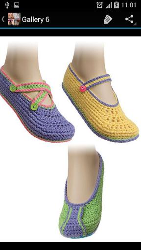 Women Slippers Crochet Pattern