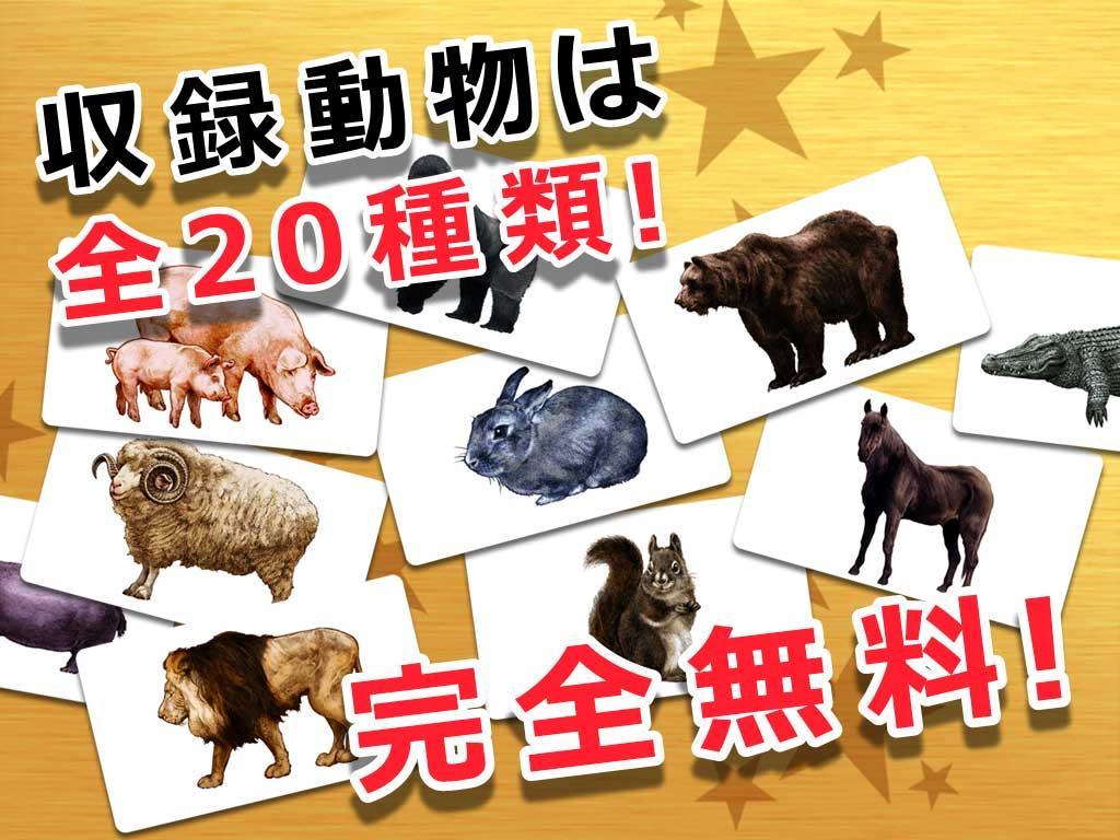 動物カード 子供向け図鑑 教育・知育・英語 - google play の android