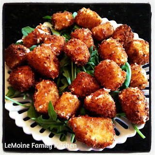 Fried Fresh Mozzarella Bites Recipe