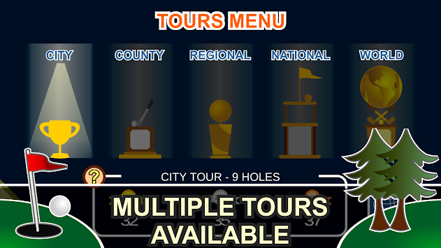 Mini Arcade Golf: Pocket Tours APK screenshot thumbnail 22