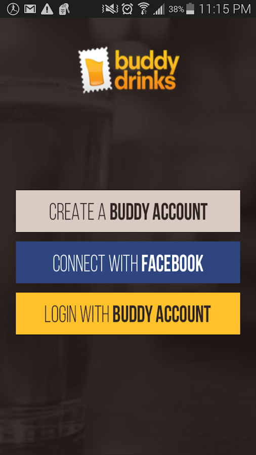 Buddy Drinks- screenshot