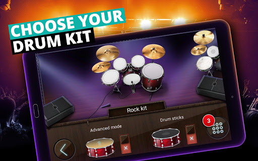 Drum Set Music Games & Drums Kit Simulator 3.24.0 screenshots 7