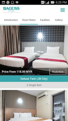 Baguss City Hotel screenshot 3