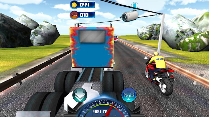 Upin Balapan Motor Ipin Game- screenshot thumbnail