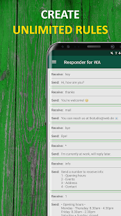 AutoResponder for WhatsApp™ Beta - Auto Reply Bot Screenshot