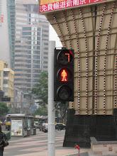 Photo: Liikennevalot ilmoittavat montako sekunttia valon vaihtumiseen
