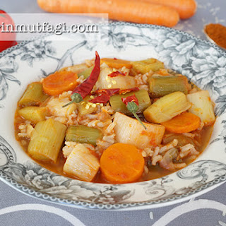 Leek Dish With Rice