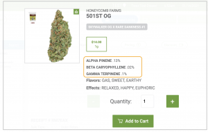 Lab results in SellTreez POS
