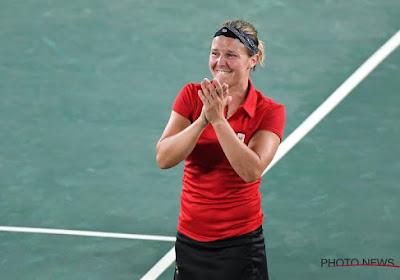 Olympische droom Kirsten Flipkens gaat voort na meevaller in 2e ronde