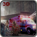 Ambulance Rescue Drive: Zombie icon