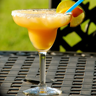 Peach Margarita Cocktail