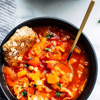 Easy White Bean and Cabbage Soup.