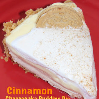 CINNAMON CHEESECAKE PUDDING PIE