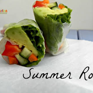 Summer Roll – the perfect roll any time of year!.