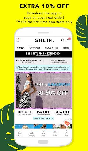 SHEIN-Fashion Shopping Online 7.1.4 screenshots 1