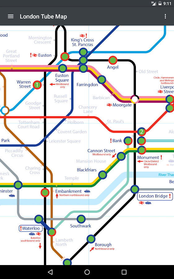 Tube Map London Android Apps On Google Play