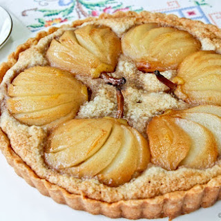 Pear and Walnut Frangipane Tart