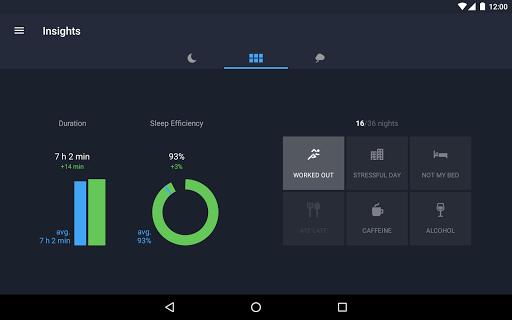 Runtastic Sleep Better: Sleep Cycle & Smart Alarm 2.6.1 screenshots 20