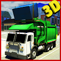 City Garbage Truck Simulator icon