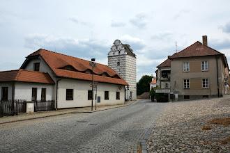 Photo: Renesansowa wieża ciśnień(Vodárenská věž). Powstała w okresie budowy zbiornika wody pitnej Jordan.