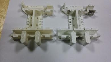 Photo: Случайно расплавилось старое крепление головки принтера. Не беда - напечатали новое!