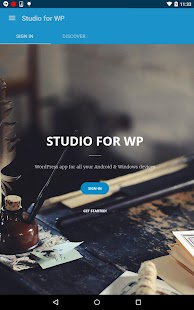 Studio for WP - Manage blogs- screenshot thumbnail