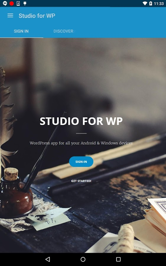 Studio for WP - Manage blogs- screenshot