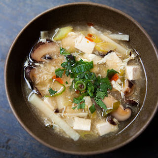 Hot and Sour Soup.