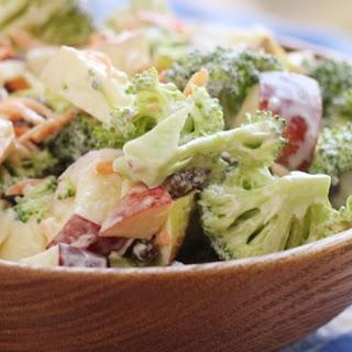 Broccoli Apple Salad.