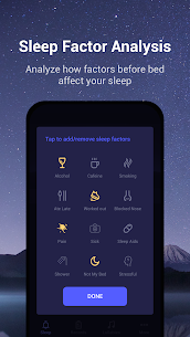 Sound Sleeper – Sleep Cycle Tracker, Snores, Music 3