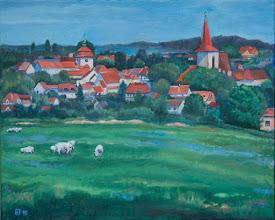 Photo: Pohled na Jilove z Pepre pred vystavbou