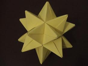 Photo: L'étoile jaune à vingt branches