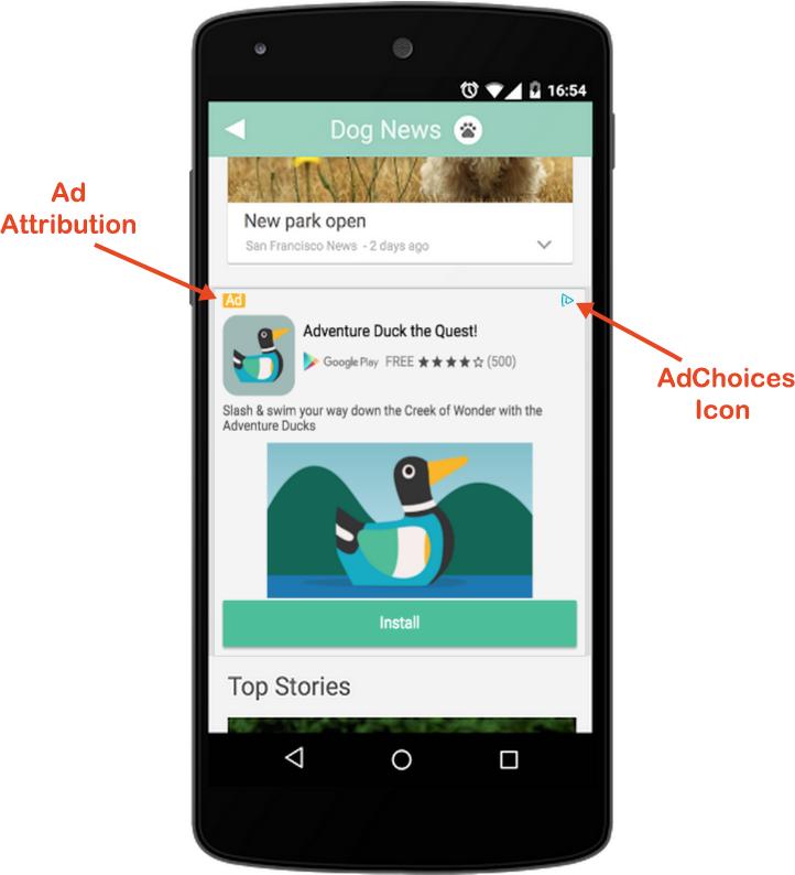 , 谷歌admob安卓SDK——原生广告之进阶部分