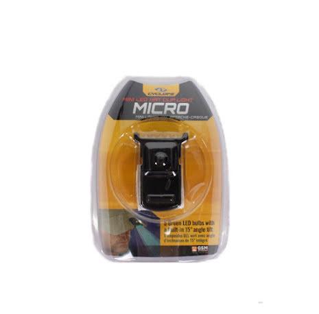 Cyclops GREEN Micro Hat Clip.