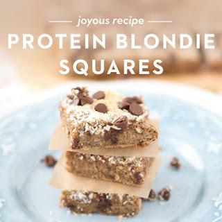 Protein Blondie Bars