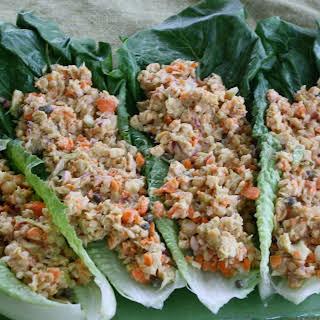 """No Mayo Chickpea """"Tuna"""" Salad (Vegan)."""
